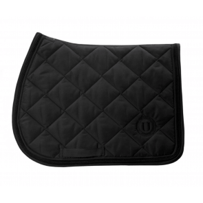 U Black - Black to Black Jumping Saddle Pad Black