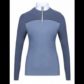 Cavalleria Toscana Bi-Color Competition Polo Grey