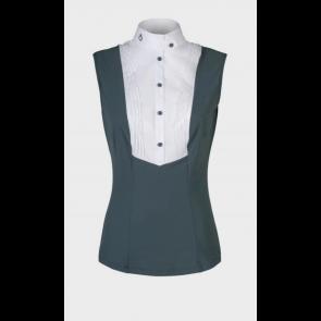 Cavalleria Toscana Techn Shirt BIB Sleevelees Støvgrøn