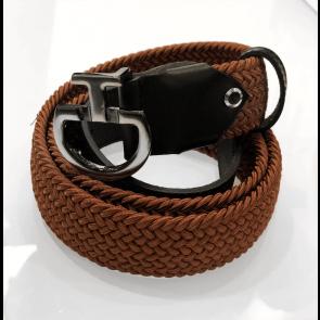 Cavalleria Toscana Elastic Belt CT Clasp Bronze