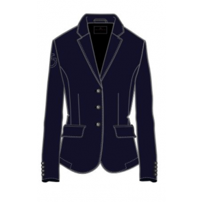 Cavalleria Toscana Competition Riding Jacket JR Navy