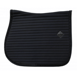 Kentucky Pearls Show Jumping Saddle Pad Black