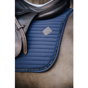 Kentucky Pearls Show Jumping Saddle Pad Navy