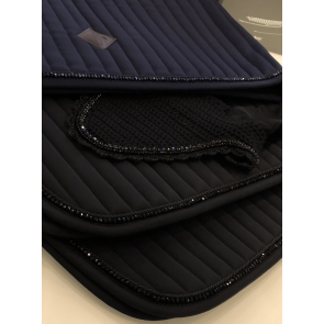Kentucky Pearls Show Dressage Saddle Pad Black