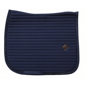 Kentucky Pearls Show Dressage Saddle Pad Navy
