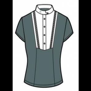 Cavalleria Toscana Techn Shirt W/BIB kortærmet Støvgrøn