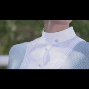Cavalleria Toscana Techn Shirt W/BIB kortærmet lys støvgrøn