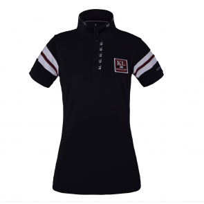Kingsland Marbella Ladies Tec Pique Polo Navy