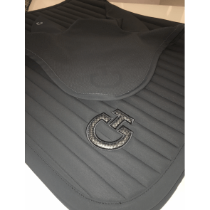 Cavalleria Toscana Micro Perforated Earnet Grå