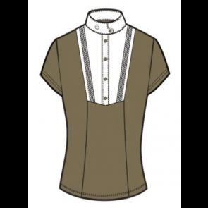 Cavalleria Toscana Techn Shirt w. Bib S/S Lys Army