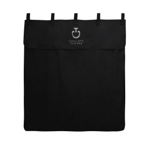 Cavalleria Toscana Waterproof Box Curtain Black