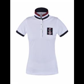 Kingsland Ursa Tec Pique Polo Shirt Hvid