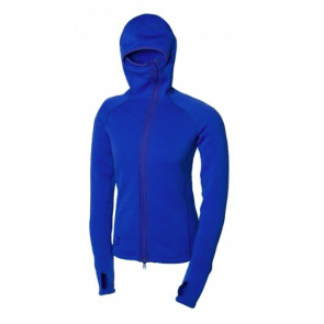 66° North Vík hooded Women's fleece jacket blå