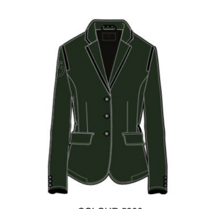 Cavalleria Toscana Riding Jacket w. Micro print Lining Grøn