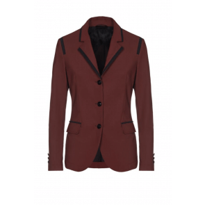 Cavalleria Toscana Riding Jacket w. Micro print Lining Bordeaux