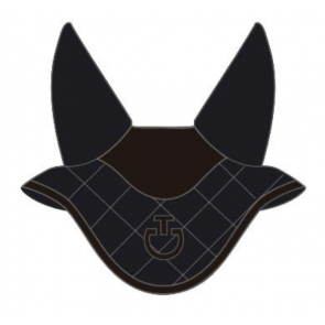 Cavalleria Toscana Diamond Quiltet Jersey Earnet Navy/brun