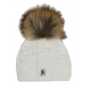 Parajumpers Cable Hat Off White