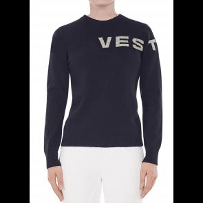Vestrum Geel Knitwear Navy