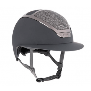 Kask Star Lady Swarowski Midnight Anthracite