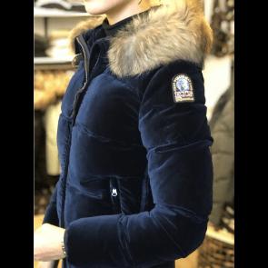 Parajumpers Sindy Velvet Jacket Navy Peony