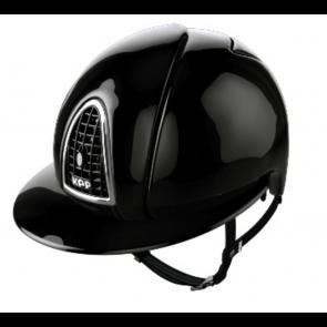 Kep Ridehjelm Black Polo Shine
