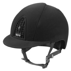 Kep Ridehjelm Black Full Velvet