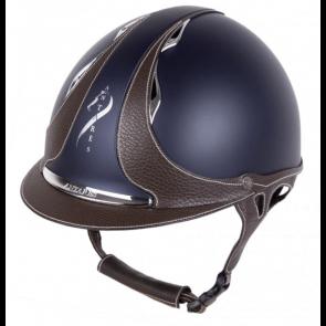 Antares Galaxy Ridehjelm Blå/Brun