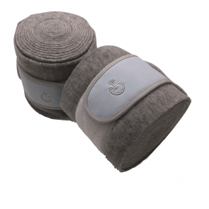 Cavalleria Toscana Tech Bandages Grå/Lyseblå