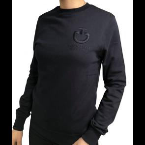 Cavalleria Toscana Crew Neck Sweatshirt Navy