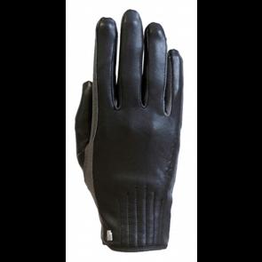 Roeckl Wels Handske Sort/grå