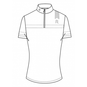 Cavalleria Toscana R-Tech Knit Competition S/S Polo Hvid