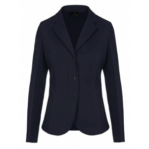 Cavalleria Toscana Tech Knit Zip Riding Jacket Navy