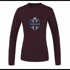 Kingsland Anatoli Knitted Sweater Burgundy