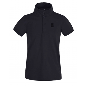 Kingsland Ales JR Tec Pique Polo Shirt Navy