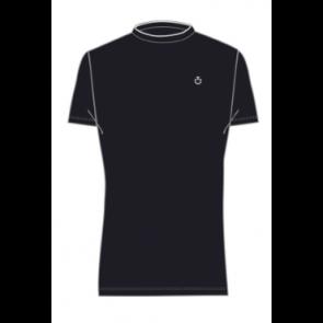 Cavalleria Toscana Rib Knit Banded T-shirt Navy