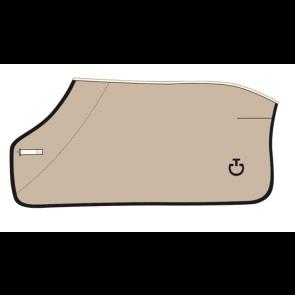 Cavalleria Toscana Fleece Stripe Rug Beige/Navy