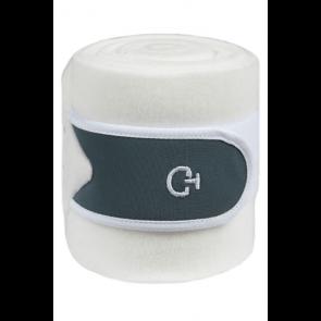 Cavalleria Toscana Tech Bandages Hvid/Støvgrøn
