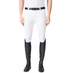 Vestrum Men's Nashville V Line Breeches White