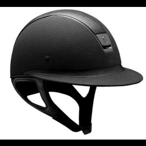 Samshield Black Alcantara/ Leather Top/ Black Chrome