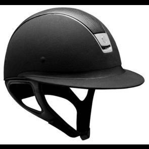 Samshield Black Alcantara/ Leather Top/ Chrome