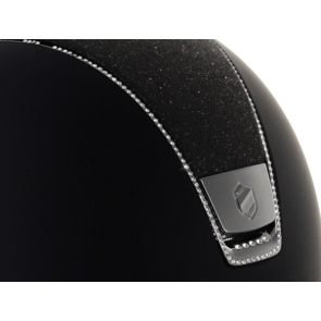 Samshield Black Shadowmatt/ Crystal Fabric /Full Swarovski