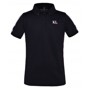 Kingsland Vera Tec Micro Pique Polo Shirt Navy JR