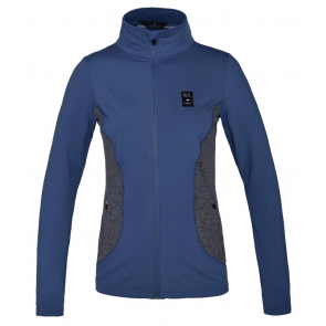 Kingsland Tam Ladies Fleece Jacket Blue Moonlight