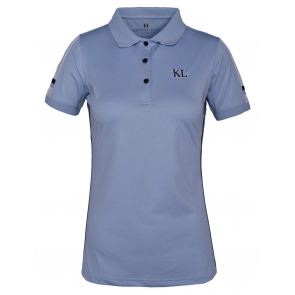 Kingsland Uma Ladies Tec Micro Pique Polo Blue Kentucky