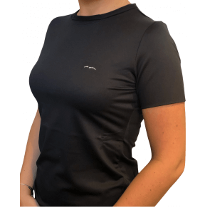 Animo Foka Woman's Jersey T-shirt Sort