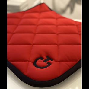 Cavalleria Toscana Jersey Quiltet Rhombi Springunderlag Red/Black