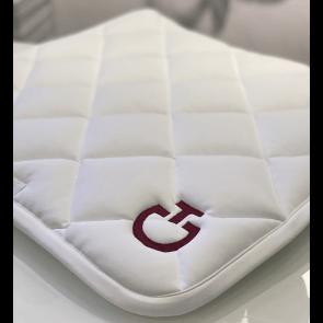 Cavalleria Toscana Diamond Quiltet Dressur Underlag Hvid