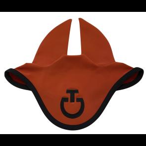 Cavalleria Toscana Jersey Stripe Earnet Brændt Orange/sort