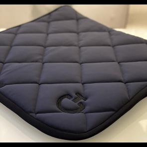 Cavalleria Toscana Jersey Quiltet Rhombi Dressur Underlag Støvet Blå