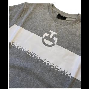 Cavalleria Toscana Adhesive Logo Sweatershirt Herre Grå